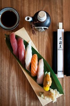 Japanese Nigirizushi, Sushi Platter - sushi is easy to make, replace with wheat rice