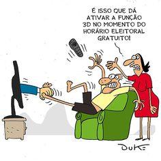 Começa propaganda eleitoral no rádio e TV