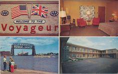The Voyageur - Duluth, Minnesota Postcard
