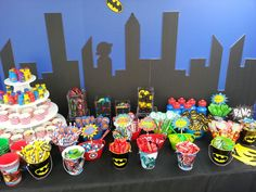 Superhero Candy Buffet helenssweetevents.com