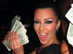 Dolla dolla bills - Kim K