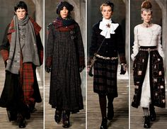 Chanel Pre Fall 2013// so beautiful..love the Victorian age aesthetic