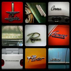 We're doing the vintage car theme! Heres one picture for his room:)