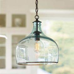 Abrir Janela: Luminárias pendentes de vidro reciclado!