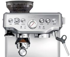 Breville BES870XL Barista Express Espresso Machine Review - http://coffee-brewing-methods.com/espresso-coffee-maker/breville-bes870xl-barista-express-espresso-machine-review/