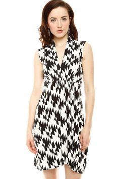 Houndstooth Dress.