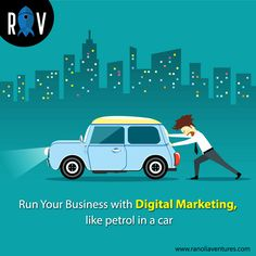 Any Business is empty without Digital Marketing, the same as a car without petrol. Grow Your Business with Ranolia Ventures, to increase your sales and revenue with Online Marketing. To Know More, Click on the Image. . . #ranoliaventures #marketing #marketingstrategy #marketingagency #strategies #strategy #business #ideas #sales #revenue #car #petrol #digitalmarketing #onlinemarketing #internet #enterpreneur #gurgoan #india Strategy Business, Business Ideas, Online Marketing, Digital Marketing, Growing Your Business, Web Development, Empty, Online Business