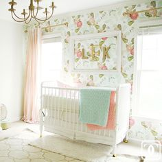 Most beautiful girl's room I've ever seen! For today's #prettyinpink feature, we travel to Charlotte, NC to talk with the beautiful and awesomely stylish @charmingincharlotte. Please go to the blog to check out her interview and this beautiful nursery she created. She is so talented!