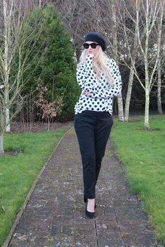 So, clearly I forgot to post this from awhile back but this was one of my all time favourite looks from my ever growing Spring wardrobe (any excuse to shop ha… All About Time, Black And White, Spring, Happy, Shop, Fashion, Moda, Black N White, Fashion Styles