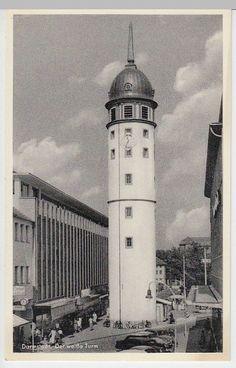 Darmstadt, Weißer Turm, vor 1945