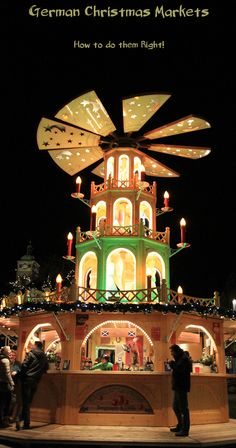 How to do a German Christmas Market! - Reflections Enroute