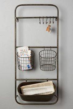 Iron Entryway Shelf Set | Anthropologie
