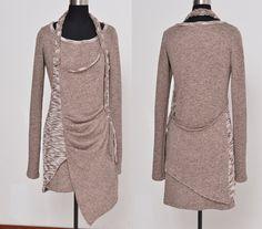 Long long braids vagabond cotton tunic dress by idea2lifestyle