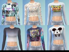 {Not my mesh}  Found in TSR Category 'Sims 4 Female Everyday'