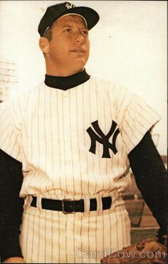 Mickey Mantle - New York Yankee Outfielder Baseball