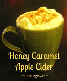 Honey Caramel Apple Cider