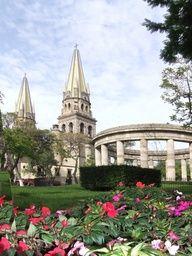 Plaza de los Hombres Ilustres. Guadalajara, Jalisco, México.