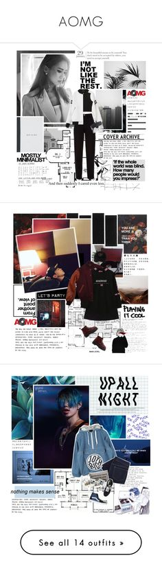 """""""AOMG"""" by followmiiin ❤ liked on Polyvore featuring gray, JayPark, hoody, aomg, SimonDominic, Chanel, Serfontaine, Alexander Wang, Dr. Martens and rapper"""