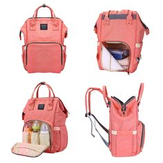 d574e72975 Baby Diaper Nappy Backpack Large Capacity Waterproof Nappy Changing Bag Baby  Care Mother Organizer - Newchic