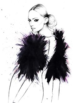 Kornelia Dębosz Fashion illustration                                                                                                                                                                                 More