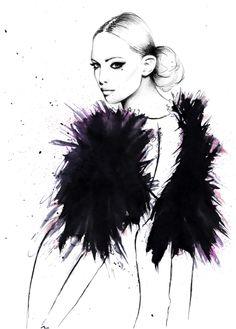Kornelia Dębosz Fashion illustration                                                                                                                                                                                 More