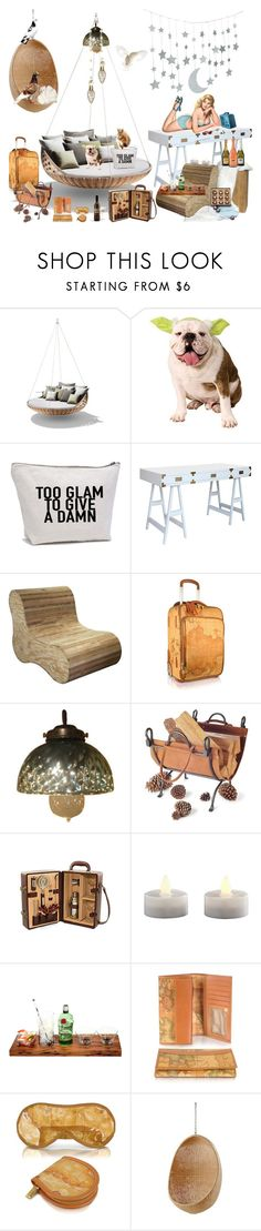 """""""too glam to give a damn #11140"""" by didesi ❤ liked on Polyvore featuring interior, interiors, interior design, home, home decor, interior decorating, Selamat, CFC, Alviero Martini 1° Classe and Metropolis"""