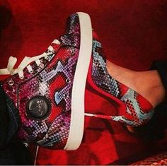 His n her christian louboutin