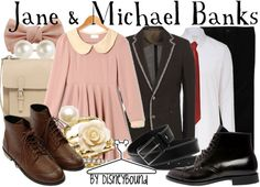 Jane and Micheal Banks | Disney Bound