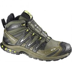 Salomon XA Pro Trail Shoes for Men - Swamp/Dark Titanium/Seaweed Green - 14 M Offer Stores Best Trail Running Shoes, Hiking Shoes, Tactical Clothing, Tactical Gear, Salomon Xa Pro 3d, Men's Shoes, Shoe Boots, Tac Gear, Men Hiking