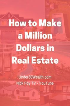 How to make money in real estate, tips for buying real estate, investing advice, how to invest in real estate, realtor, real estate agent, flipping houses, wholesaling, budgeting, personal finance, making money quick, wealth building tips, landlord tips #money #personalfinance #wealthtips #wealth #stockmarket #realestate #invest #realestateinvesting #millionaire #realestateagenttips #realestatetips