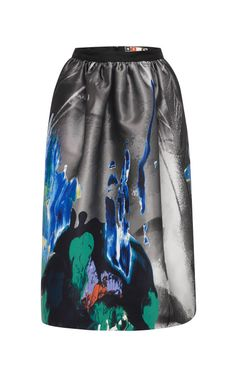 Beauty And Art Jacquard Skirt by MSGM - Moda Operandi