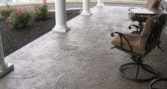 front porch concrete overlay - Google Search