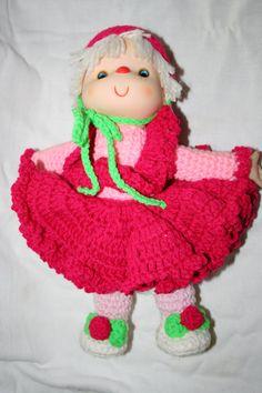 Dumplin Designs Crocheted Doll by TheTreasureHuntLLC on Etsy