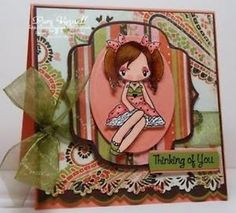 MISS-ANYA-LOVE-The-Greeting-Farm-Cling-Mount-Rubber-Stamp-Stamping-Craft-Cards