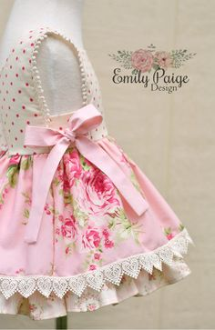 Clothes Crafts, Sewing Clothes, Doll Clothes, Toddler Girl Dresses, Girls Dresses, Flower Girl Dresses, Baby Dress Tutorials, Baby Girl Christmas Dresses, Frilly Dresses