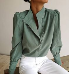 Tops for Women - Shop Long or Short Blouses & Shirts Work Wear Office, Casual Work Wear, Stylish Shirts, Up Girl, Classy Outfits, Blouses For Women, Cheap Blouses, Blouse Designs, Fashion Outfits
