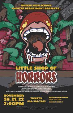 Little Shop of Horrors. Ruskin High School.