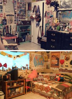 This is a blog called Teenage Bedroom that pays homage to when we were still young and exciting, before we got old and boring.  Interesting.