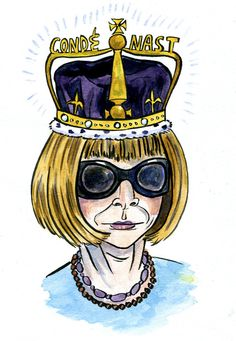 "The ""Ice Queen,"" Anna Wintour."