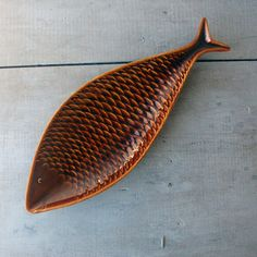 Stig Lindberg Fish Plate