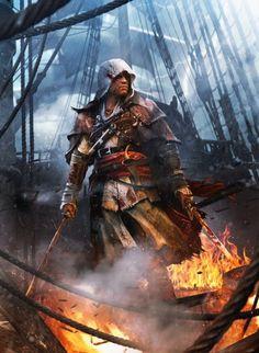 Edward Kenway - Assassins Creed IV Black Flag #AssassinsCreedIV #BlackFlag #AssassinsCreedIVBlackFlag #EdwardKenway