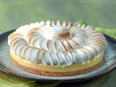 Easy Lemon Meringue Pie - Our recipe with photos - Meilleur du Chef Desserts Français, Classic French Desserts, Puff Recipe, Lemon Meringue Pie, Sweet Tarts, Tart Recipes, Food Photo, Cheesecake, Ethnic Recipes