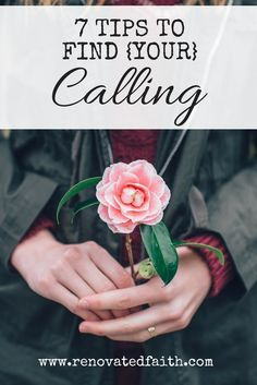 So often when trying to define God's call on my life, I felt like His plans for me were elusive and intangible.  In reality, however, I had placed obstacles in my own life that made it hard to hear what He was so patiently and clearly telling me.  7 Tips to Find Your Calling  www.renovatedfaith.com