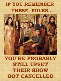 Discovered this show years after it aired. (Where was I when this show was on TV?) Caught a marathon, watched every episode. And the movie. OP: Even if you came to the show because of the DVD's you still are upset! Nerd Love, My Love, Nathan Fillon, Gina Torres, Morena Baccarin, Dc Movies, Firefly Serenity, Star Wars, Joss Whedon