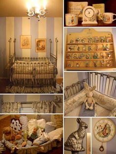 Whenever the time comes I am in love the with idea of a Beatrix Potter nursery