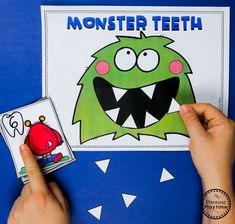 Monster Theme Join our Email Group for Ideas, Freebies & Special Offers.Do you want to teach a Monster Theme Unit in your preschool? This set is packed wi Monster Activities, Preschool Learning Activities, Toddler Learning, Preschool Worksheets, Kindergarten Activities, Toddler Preschool, Preschool Activities, Halloween Activities, Autumn Activities