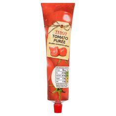 Tesco Tomato Puree Tube 200G - Groceries - Tesco Groceries