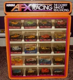 Race Car Sets, Slot Car Racing, Race Cars, Race Tracks, Slot Car Tracks, Afx Slot Cars, Car Racer, Great Hobbies, Childhood Toys