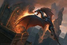 "gameofthrones-fanart:  ""Balerion the Black: Awesome ASOIAF Illustration by benu-h  """