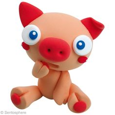 Tutoriel : Modeler un cochon en pate à modeler Patarev